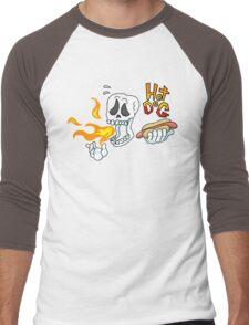 Hot DOG!! Men's Baseball ¾ T-Shirt