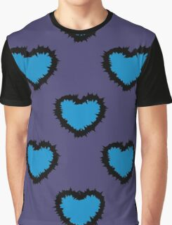BLUE HEARTS Graphic T-Shirt