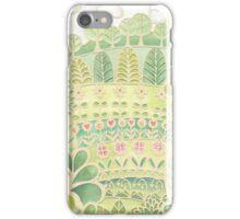 'Flower Garden' papercut iPhone Case/Skin