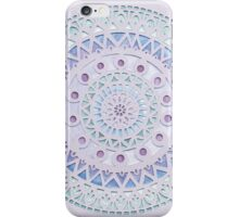'Frozen Mandala' papercut iPhone Case/Skin