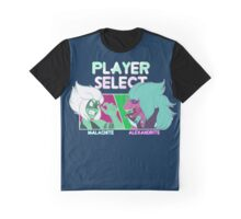 MALACHITE VS ALEXADRITE Graphic T-Shirt
