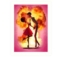 Overkills- Explosion Art Print