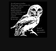 Dancing Owl #2 Unisex T-Shirt