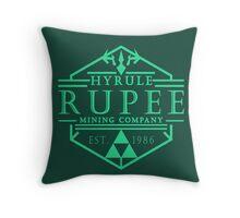Hyrule Rupee Mining Company Throw Pillow