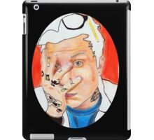 Frank Iero Colored Pencil Drawing iPad Case/Skin