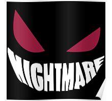 Gengar Nightmare Poster