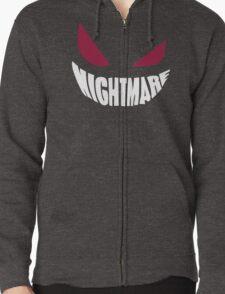 Gengar Nightmare Zipped Hoodie