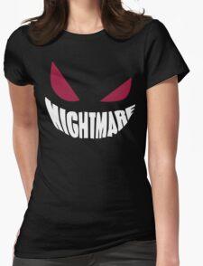 Gengar Nightmare Womens Fitted T-Shirt