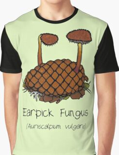 Earpick Fungus (No smiley face) Graphic T-Shirt