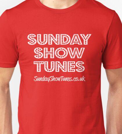 Sunday Show Tunes Unisex T-Shirt
