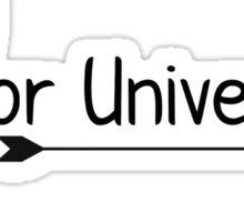 Baylor University Arrow Sticker
