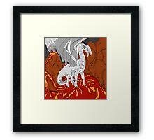 Steel Dragon  Framed Print