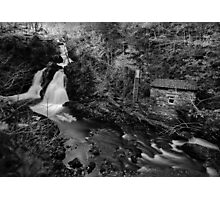 Colwith Force- Long Exposure Infra Red Monochrome Photographic Print