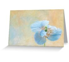 Song of Beauty Greeting Card