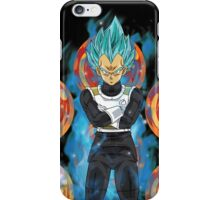 Dragon Ball Z - Super Saiyan God Vegeta iPhone Case/Skin