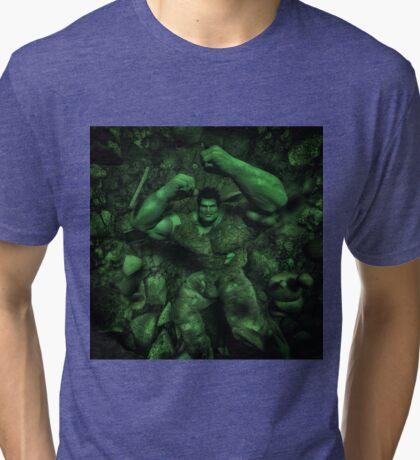 Classic Superhero  Tri-blend T-Shirt