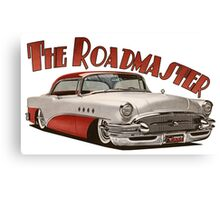 1955 Buick Roadmaster - Red Canvas Print