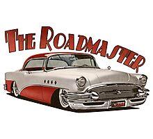 1955 Buick Roadmaster - Red Photographic Print
