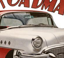 1955 Buick Roadmaster - Red Sticker