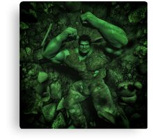 Classic Superhero  Canvas Print
