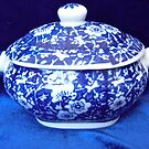 Blue and White Bowl by Shulie1
