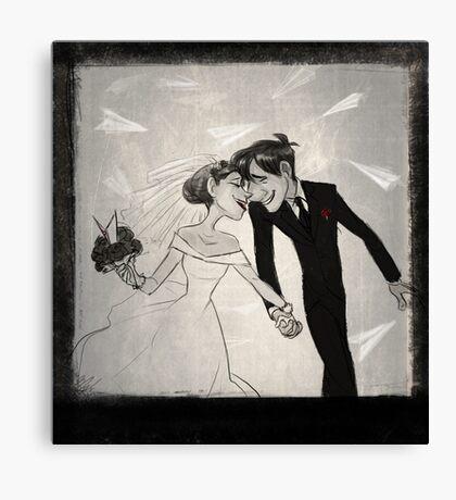 Paperman- Wedding Canvas Print