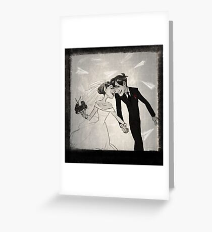Paperman- Wedding Greeting Card