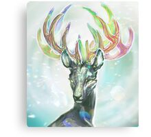 Crystal Stag Canvas Print