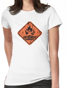 Pokemon Charmander Womens Fitted T-Shirt