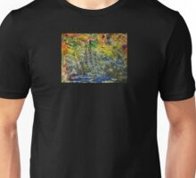 """""""Fall Reeds in Stream"""" Unisex T-Shirt"""