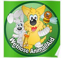 Wetnose original Logo I Poster