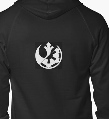 Rebel vs Empire Zipped Hoodie
