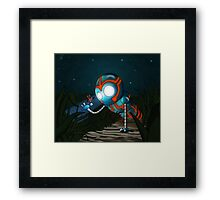 The Robot and Butterfly Framed Print