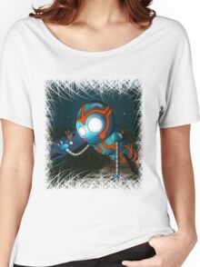 The Robot and Butterfly Women's Relaxed Fit T-Shirt
