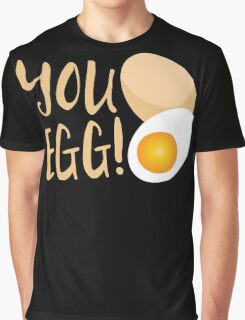 You egg (with golden egg) funny Kiwi Saying Graphic T-Shirt