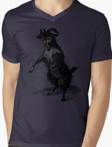 Black Phillip Mens V-Neck T-Shirt
