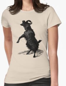 Black Phillip Womens Fitted T-Shirt
