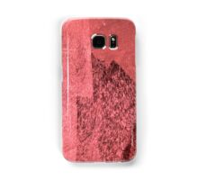 Cool, unique modern pink black abstract painting art design Samsung Galaxy Case/Skin