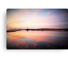 Urunga Sunrise - NSW Mid North Coast Canvas Print