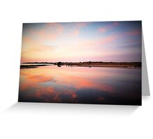 Urunga Sunrise - NSW Mid North Coast Greeting Card