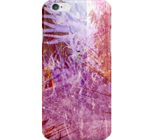 Cool, unique modern abstract pink nuature digital art design iPhone Case/Skin