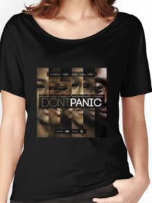 Section Boyz - Dont Panic T Shirt Women's Relaxed Fit T-Shirt