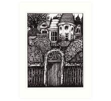The Hidden House Art Print
