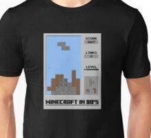 Minecraft in 80's Unisex T-Shirt
