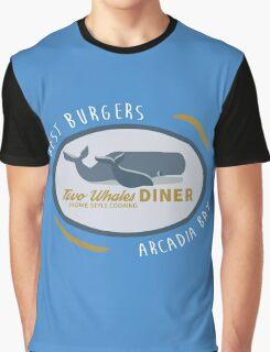 Two Whales Diner shirt – Life Is Strange, Arcadia Bay, Menu Graphic T-Shirt