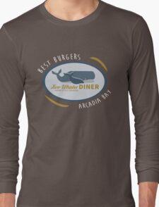 Two Whales Diner shirt – Life Is Strange, Arcadia Bay, Menu Long Sleeve T-Shirt