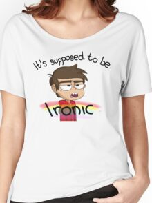 Supposed to be Ironic Women's Relaxed Fit T-Shirt