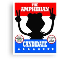 The Amphibian Candidate Canvas Print