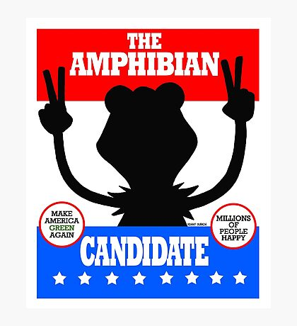 The Amphibian Candidate Photographic Print