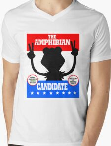 The Amphibian Candidate Mens V-Neck T-Shirt